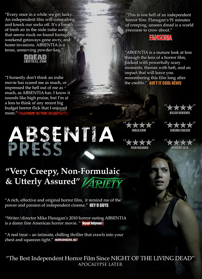 absentia press poster